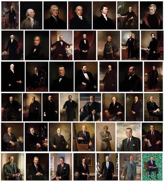 Obama's silly portrait